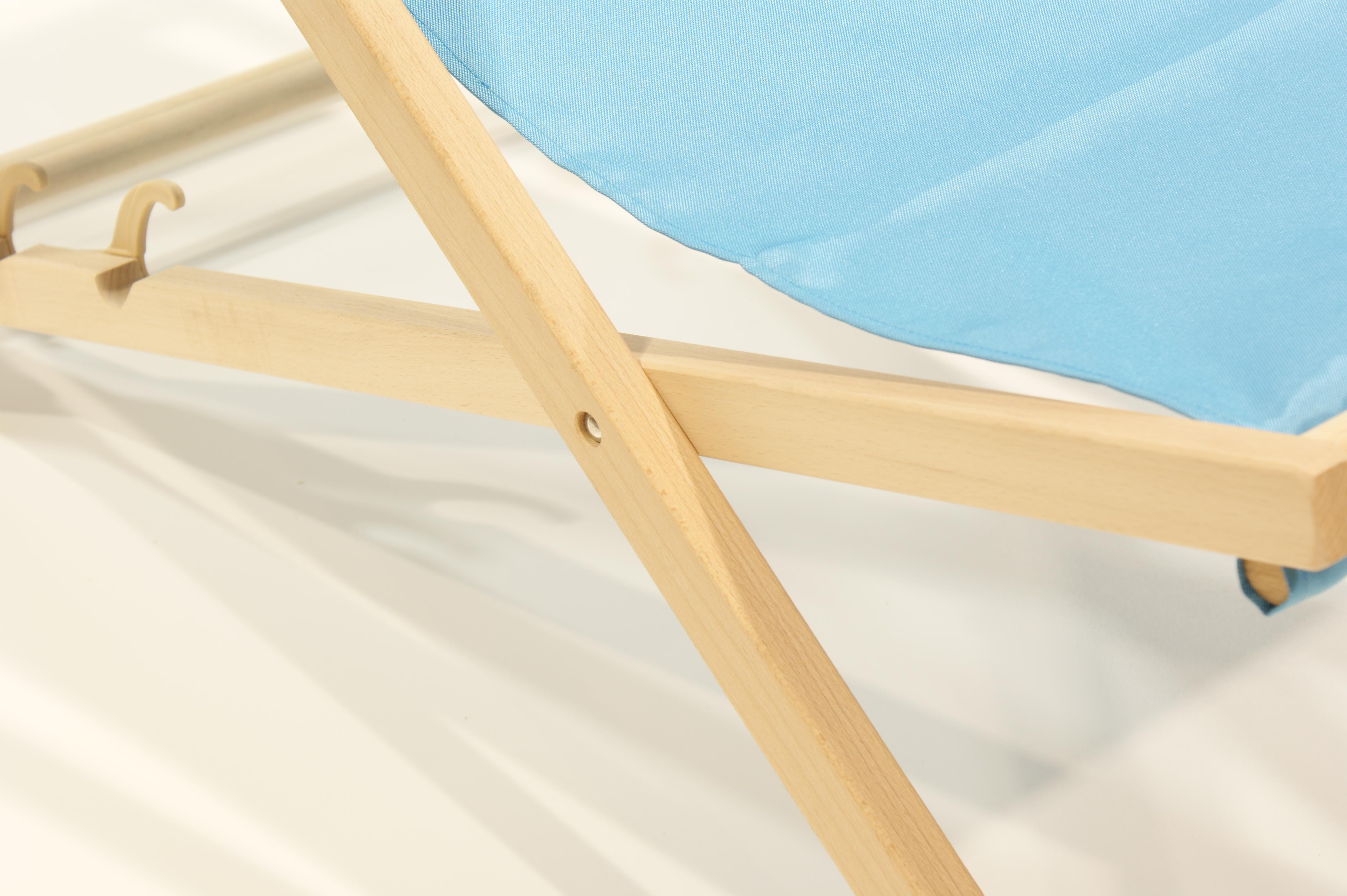 liegestuhl aus holz mit armlehnen und getr nkehalter gartenm bel campingliege ebay. Black Bedroom Furniture Sets. Home Design Ideas
